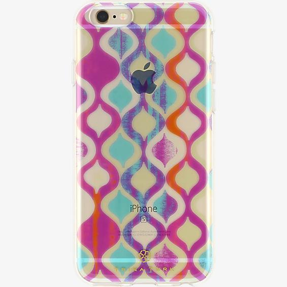 Estuche traslúcido (1 piezas) Trina Turk para iPhone 6/6s - Ogee Multi/Transparente