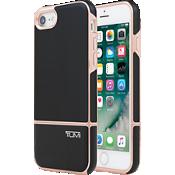Estuche Slider de dos piezas para iPhone 7 - Negro/Color Rose Gold