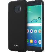 Estuche comoldeado de lona plastificada para Samsung Galaxy S7 edge - Negro