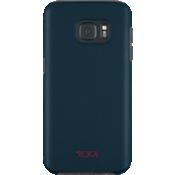 Estuche comoldeado metálico cepillado para Galaxy S7 - Azul
