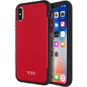 Estuche comoldeado de lona plastificada para iPhone X - Lona plastificada roja