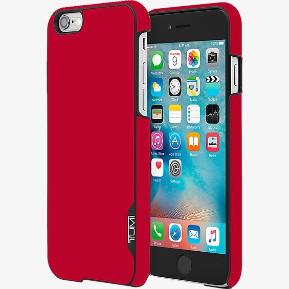 Estuche de lona plastificada con cierre a presión para iPhone 6/6s