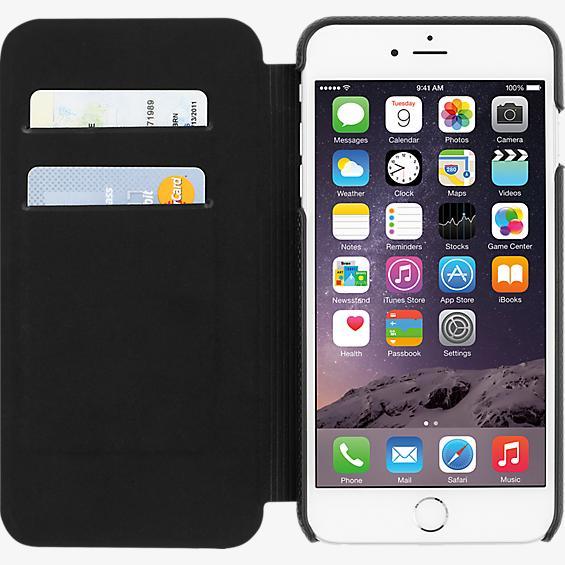 Estuche tipo folio para iPhone 6 Plus/6s Plus - Piel negro