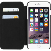 Estuche tipo billetera TUMI para iPhone 6 Plus/6s - Piel negro