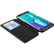 Estuche tipo folio TUMI para Samsung Galaxy S 6 edge+ - Piel negra
