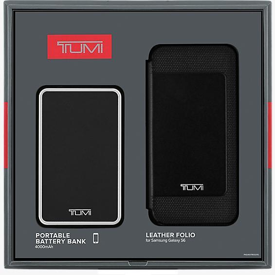 Set para regalar - Batería de 4000mAh/ Estuche de piel para Samsung Galaxy S6