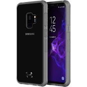 Estuche UA Protect Verge para Galaxy S9 - Color Clear/Graphite/Logotipo Gunmetal