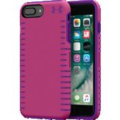 Carcasa UA Protect Grip para iPhone 8 Plus/7 Plus/6s Plus/6 Plus - Rosa tropical/Rave morado