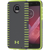 Estuche UA Protect Grip para Moto Z2 Play - Grafito/Color Quirky Lime