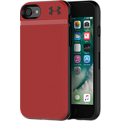 Estuche UA Protect Stash para iPhone 7 - Rojo/Negro