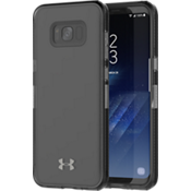 Estuche UA Protect Verge para Galaxy S8+ - Transparente/Color Translucent Smoke/Logotipo Gunmetal