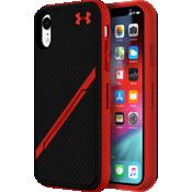 Carcasa UA Protect Kickstash para el iPhone XR - Negro/Rojo