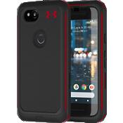 Estuche Protect Ultimate para Pixel 2 - Negro/Rojo