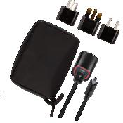 Paquete de cargador para viajes internacionales para Micro USB