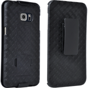 Combo de protector/funda con pie de apoyo para Samsung Galaxy S6 edge+
