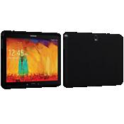 Estuche de silicona Verizon para Galaxy Note 10.1 2014 Edition