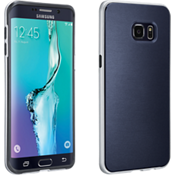 Cubierta suave con protección para Samsung Galaxy S 6 edge+ - Azul