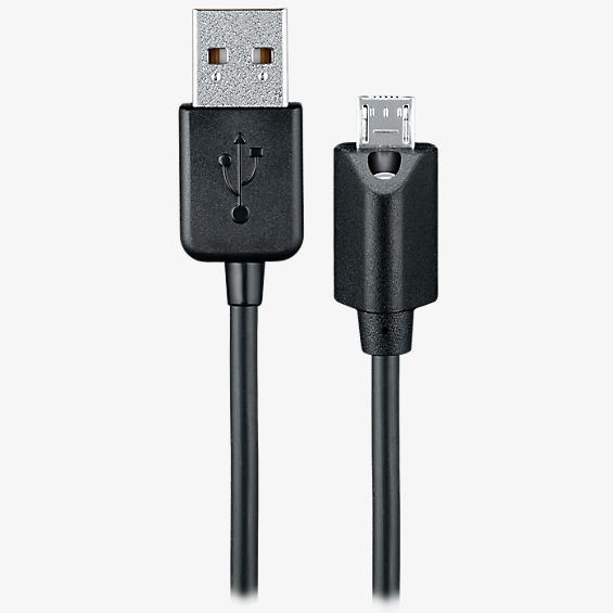 Cable de data micro USB con LED táctil capacitiva - 6 pies
