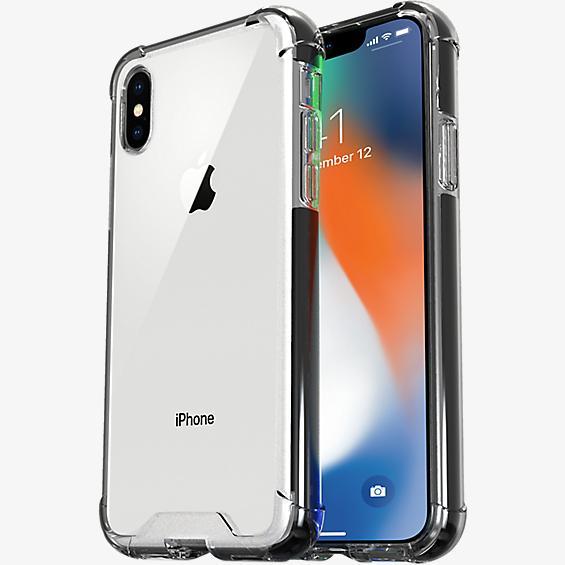 Estuche protector transparente para el iPhone XS/X