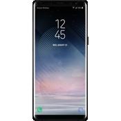 Protector de pantalla curva de vidrio templado para Galaxy Note8 - Negro