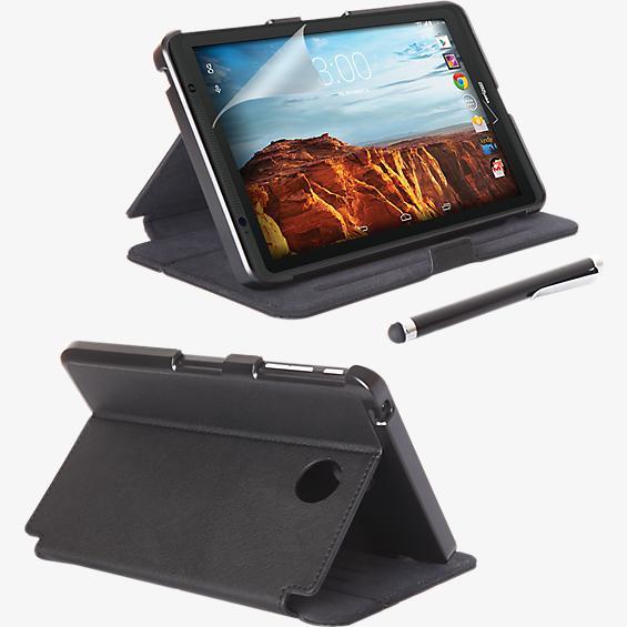 Paquete de estuche tipo folio, protector de pantalla y lápiz electrónico para Ellipsis 8