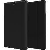 Paquete de estuche tipo folio y prot. de vidrio templado para Ellipsis 8 HD - Negro