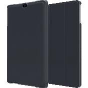 Paquete de estuche tipo billetera y vidrio templado para Ellipsis 8 HD