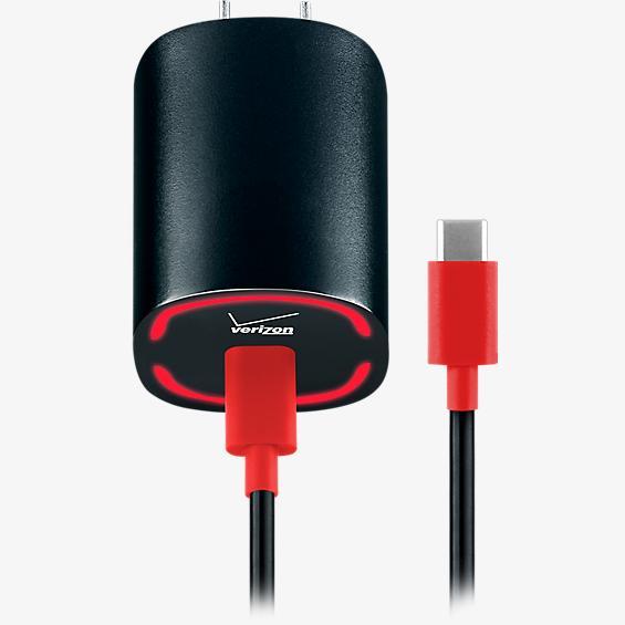 Cargador USB tipo C de pared con tecnología de carga rápida