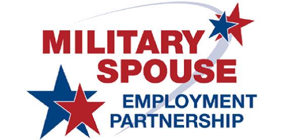 logotipo de military spouse