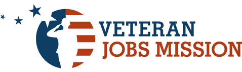 logotipo de veteran jobs mission