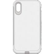 Carcasa resistente para el iPhone XR - Blanco/Gris