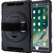 Carcasa resistente con correa para el iPad 9.7 - Negro