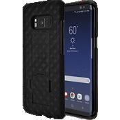 Paquete combinado de protector/cubierta para Galaxy S8 - Negro