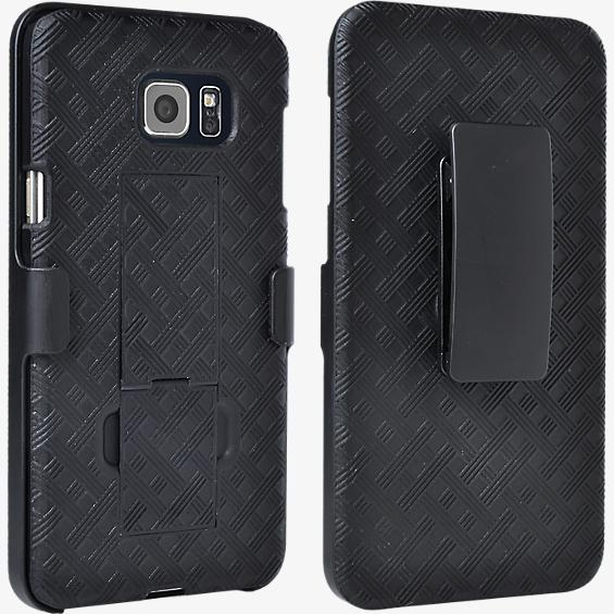 Paquete combinado de funda/protector con base de apoyo para Samsung Galaxy Note 5