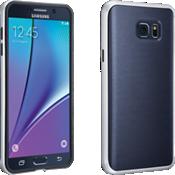 Cubierta suave con protección para Samsung Galaxy Note 5 - Azul