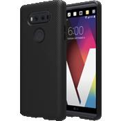 Estuche de silicona con textura para V20 - Negro
