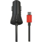 Cargador para auto USB-C de carga rápida