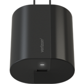 Cargador de pared con puerto USB-C - Negro