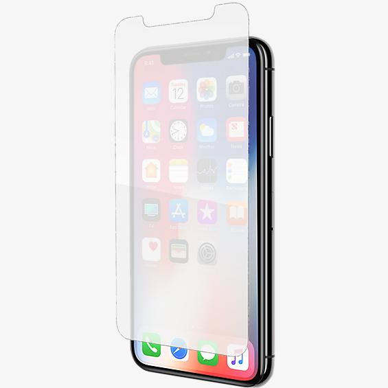 InvisibleShield Glass+ para iPhone X