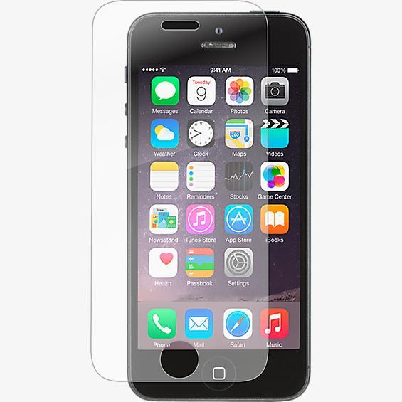 Protector de pantalla de vidrio InvisibleShield para Apple iPhone 5/5s/5conSE