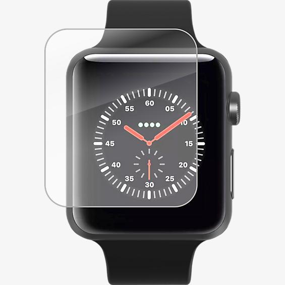 InvisibleShield HD Dry para el reloj Apple Watch Series 1, 2 y 3 (38 mm)