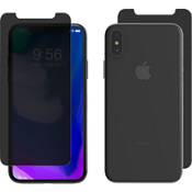 InvisibleShield Privacy Glass+ para iPhone X