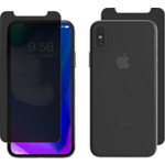 ZAGG InvisibleShield Privacy Glass+ para el iPhone XS/X