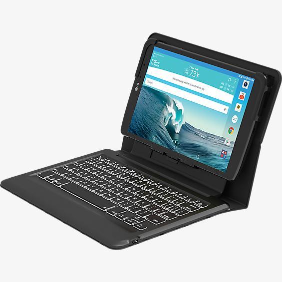 Estuche tipo folio con teclado Bluetooth Slim para LG G Pad X8.3