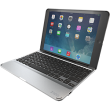 Estuche tipo folio con teclado desmontable Slim Book para iPad Air 2