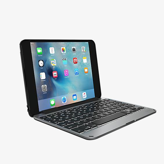 Estuche tipo billetera con teclado desmontable Slim Book para iPad mini 4