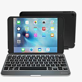 Teclado y estuche Slim Book para iPad mini 2/3 - Negro
