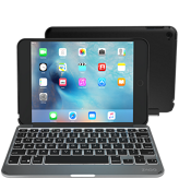 Teclado y estuche Slim Book para iPad mini 2/3 - Negro