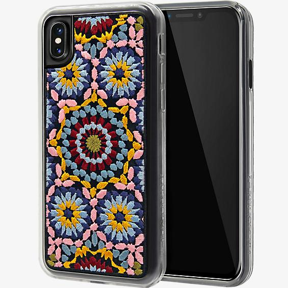 Carcasa bordada Casbah para iPhone X